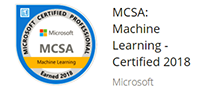 MCSA Machine Learning